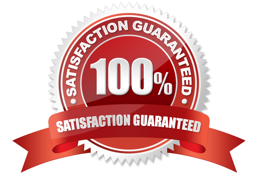 100% satisfaction guarantee image