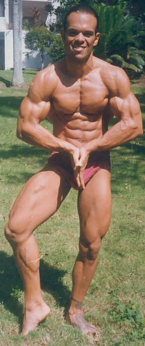 Dario's natural muscle building picture
