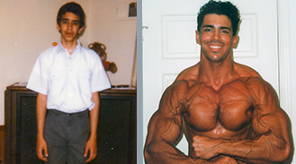 Francesco Castano gains 65 lbs of muscle mass without supplements or steroids