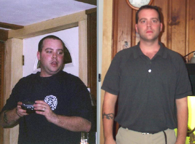 Steve from Connecticut's natural weight loss picture
