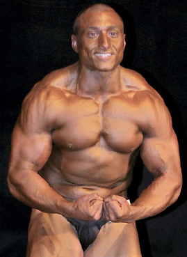 Christopher's natural muscle building photo