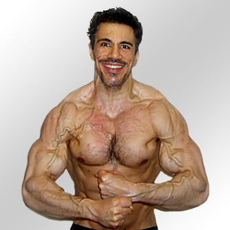 Francesco's natural muscle building photo