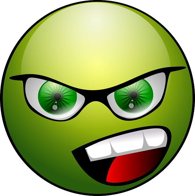 Angry face image
