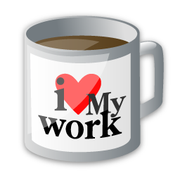 I love my work cup image