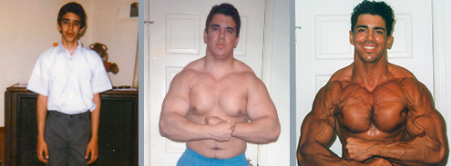 Francesco Castano gains muscle mass & burns fat naturally