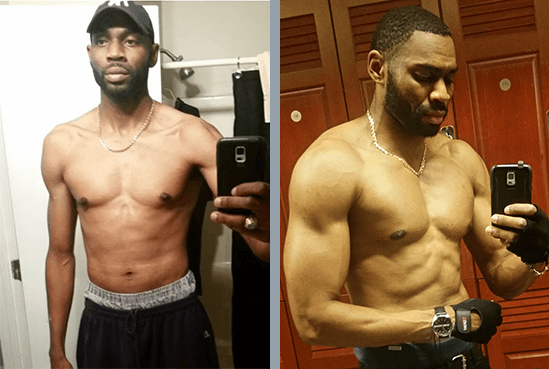 Damond builds muscle mass naturally with MuscleNOW